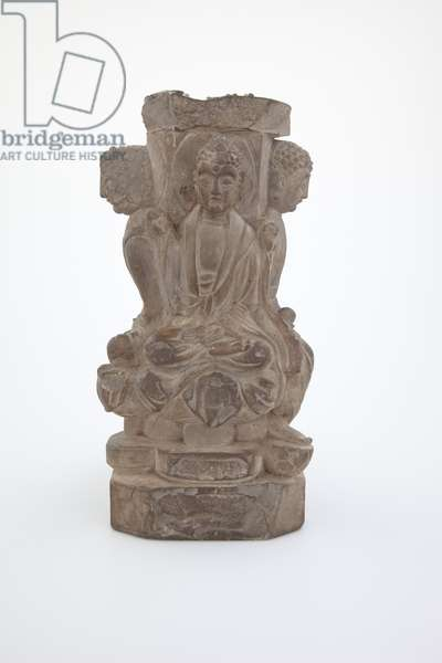 Buddhist Figure Group (stone)