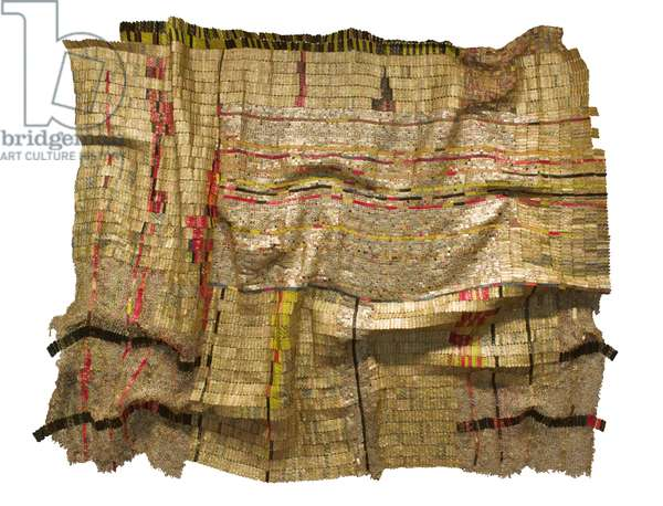 Duvor Cloth, 2007 (aluminium & copper wire)