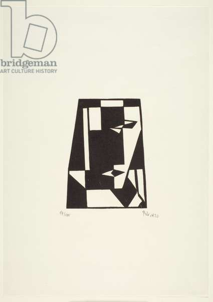 Untitled, 1926 (woodblock print on cream wove paper)