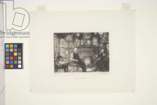 Mcsorley'S Back Room (etching)