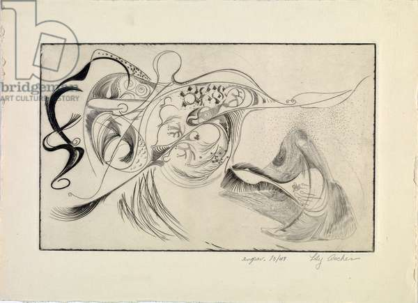 Untitled, 1947 (engraving)