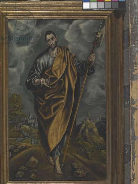 St. Judas Thaddaeus Or St. Thomas (oil on canvas)