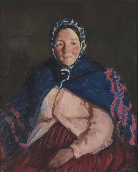Old Johnnie's Wife, 1913 (oil on canvas)