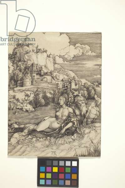 The Sea Monster (Meerwunder) (engraving on laid paper)
