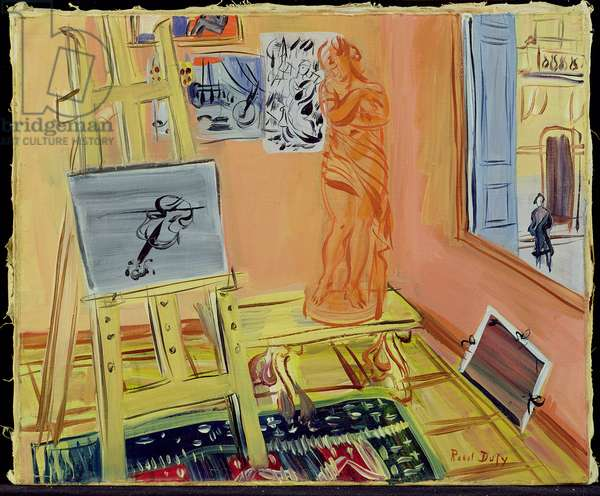 The Studio, c.1942 (oil on canvas)