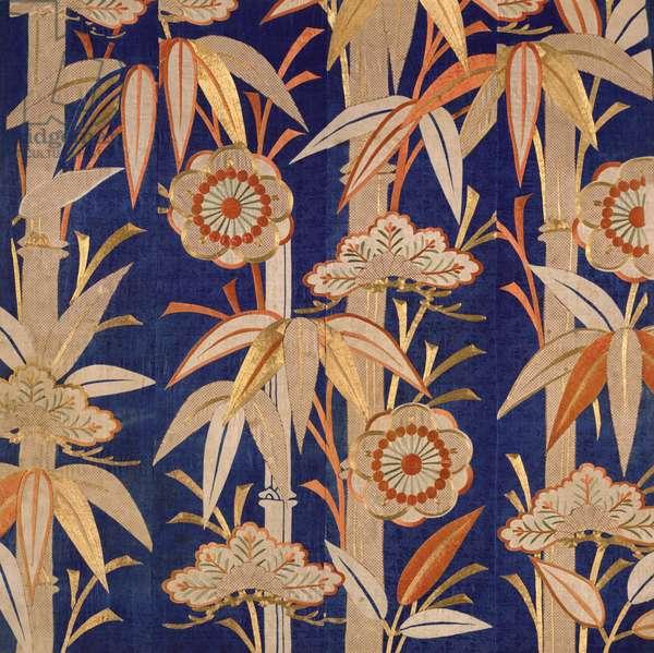 Buddhist Temple Altar Cloth, Edo Period (1600-1868) 1805 (silk)
