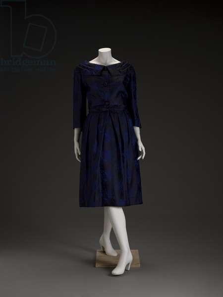 Suit, 1950s (silk)