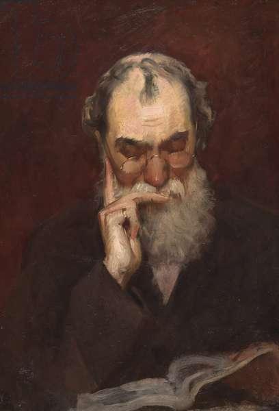Henry James Sr., c.1881 (oil on canvas)