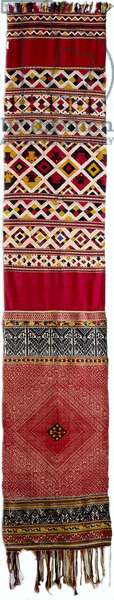 Ceremonial Shoulder Cloth;Phaa Biang; Head Wrapper (photo)
