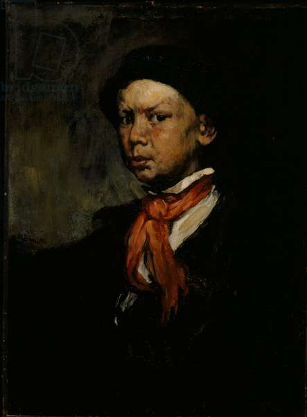 The Whistling Boy, c.1873 (oil on canvas)