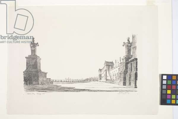 Appian Way (Chicago) (lithograph)