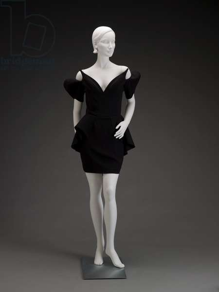 Dress, 1981 (acetate & rayon)
