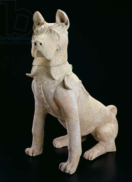 Seated Mastiff, c.100 (earthenware)