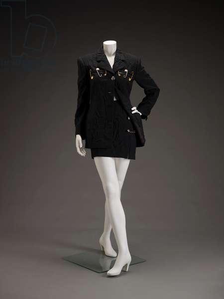 Suit, 1994 (wool, metal & plastic)