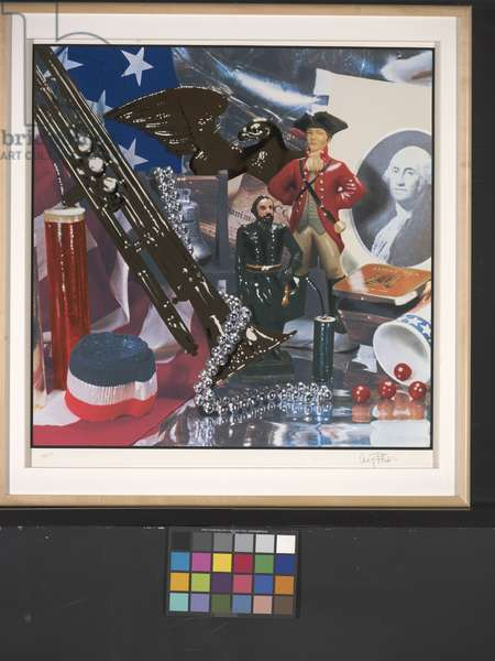 Fourth Of July Still Life (photolithograph)