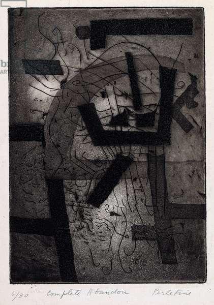 Complete Abandon, c.1945 (etching & aquatint)