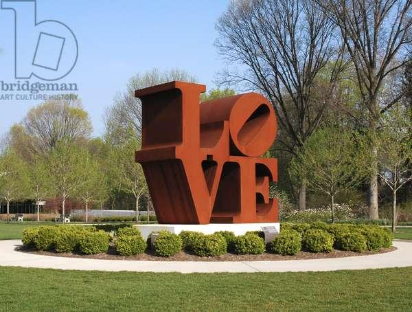 Love (cor-ten steel)