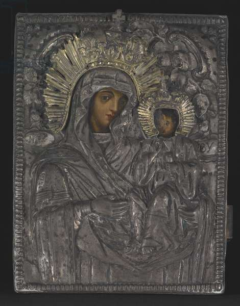 Madonna and Child (silver gilt)