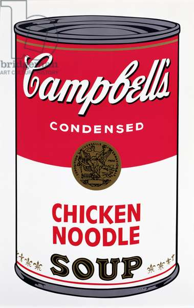 Chicken Noodle (screenprint)