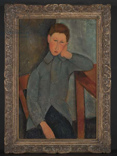 The Boy, 1919 (oil on canvas)