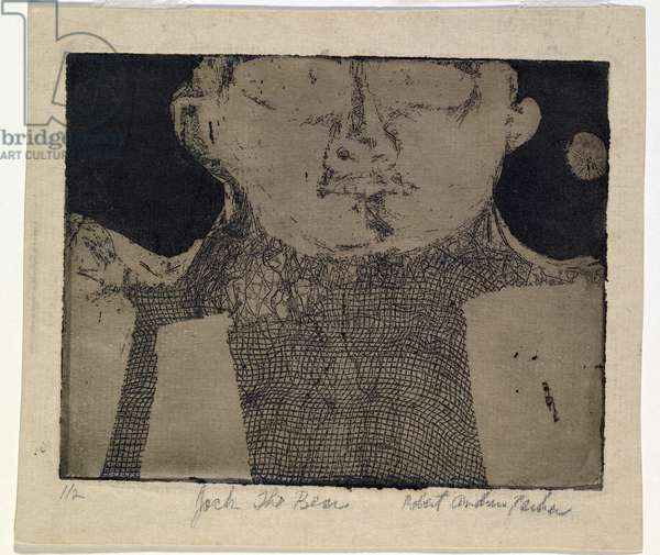 Jack the Bear, c.1952 (soft-ground etching & aquatint)