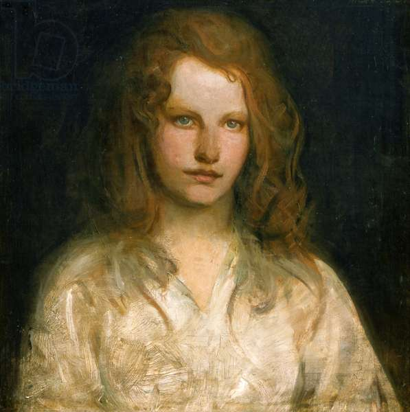 Margaret MacKittrick, c.1903 (oil on canvas)