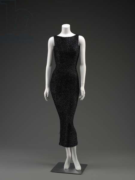Evening Dress, 1996 (nylon & synthetic fiber)