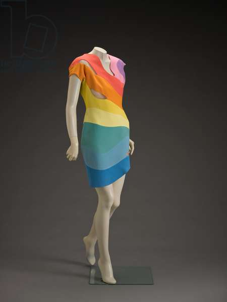 Dress, 1990 (acetate & rayon)