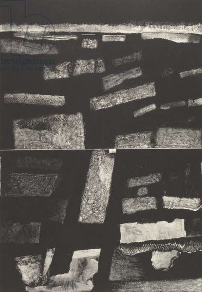 Above and Below, 1961 (litho)