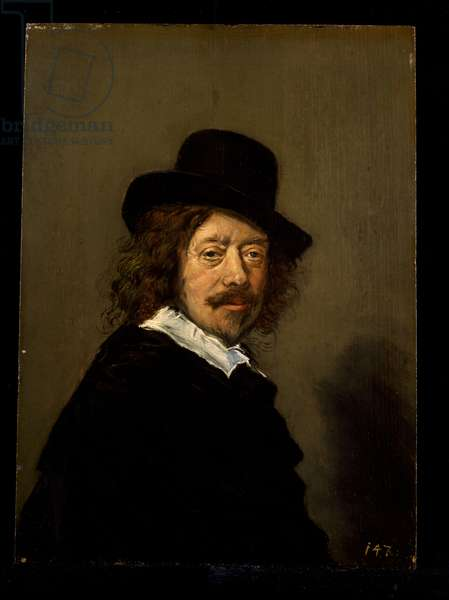 Portrait of the Artist, c.1650 (oil on wood)