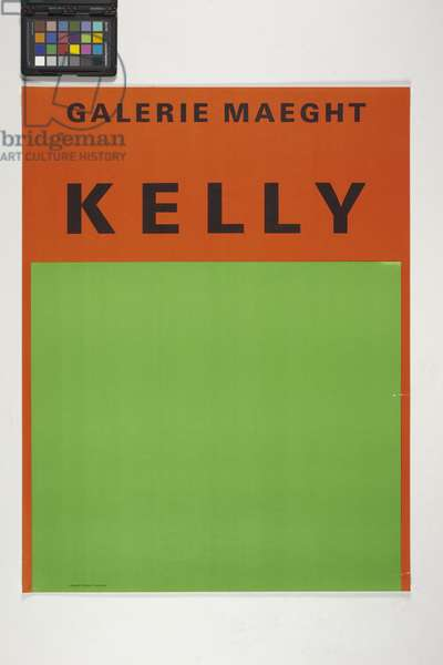 Galerie Maeght, Kelly (colour lithograph)