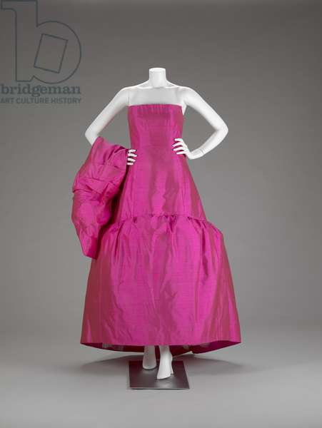 Evening Gown Ensemble: Ball Gown And Cape (photo)