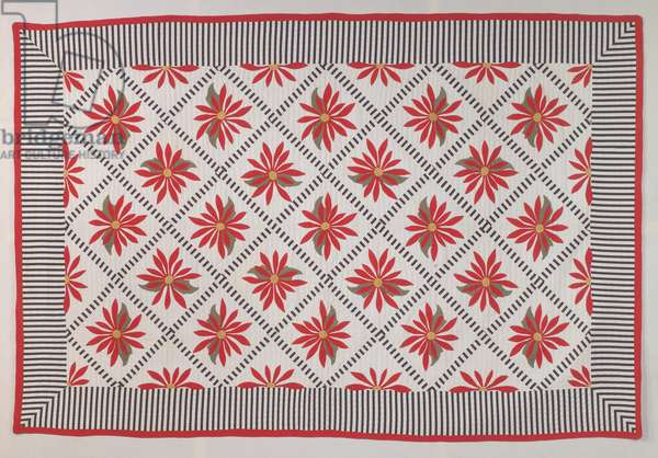 Poinsettia, 1917 (textile)