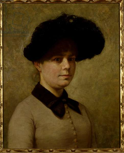 Portrait of Mary Etell Gertrude Walker (oil on canvas)
