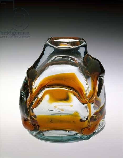 Untitled Vessel, 1968 (glass)