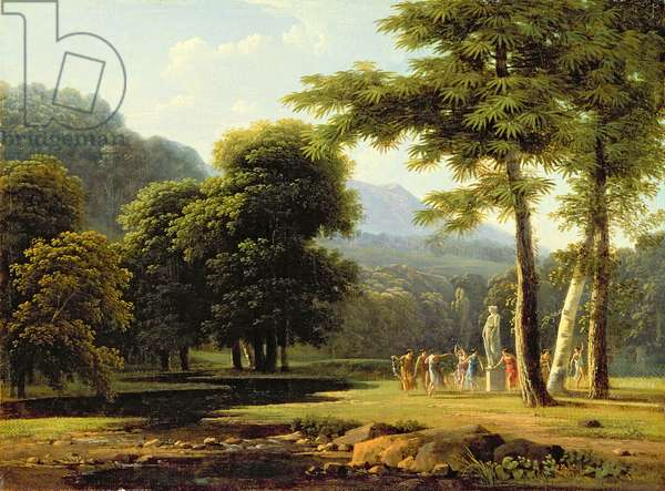 Landscape, 1804 (oil on canvas)