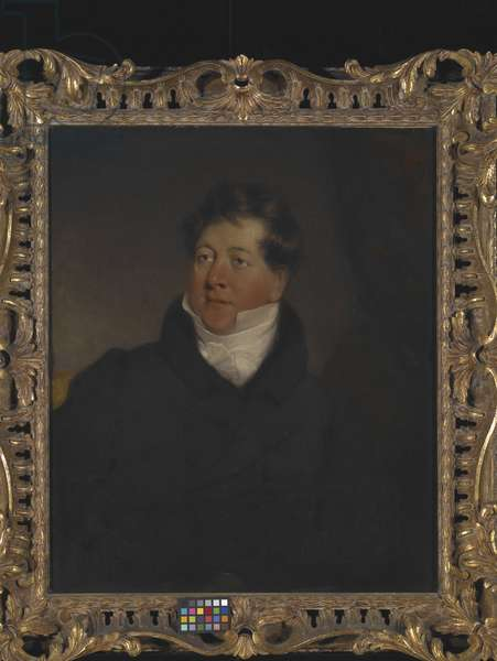Portrait Of Lord Cavendish (oil on canvas)