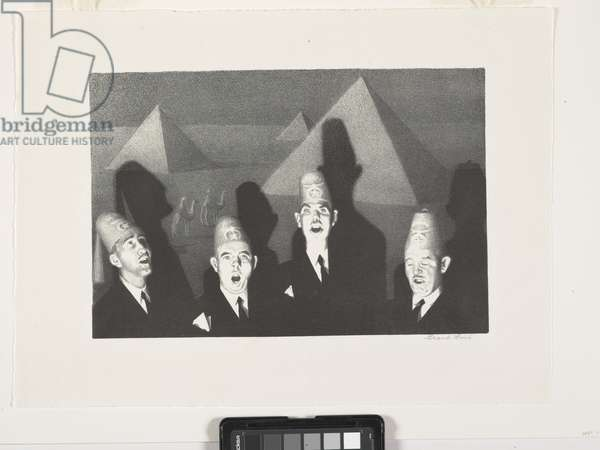 Shrine Quartet (lithograph)