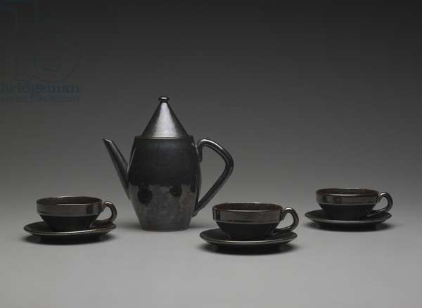 Coffee Service (glazed terracotta)