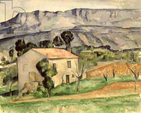 House in Provence, 1886-90 (oil on canvas)