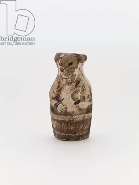 Netsuke (earthenware, glaze)