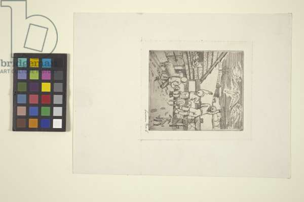 Christmas (etching)