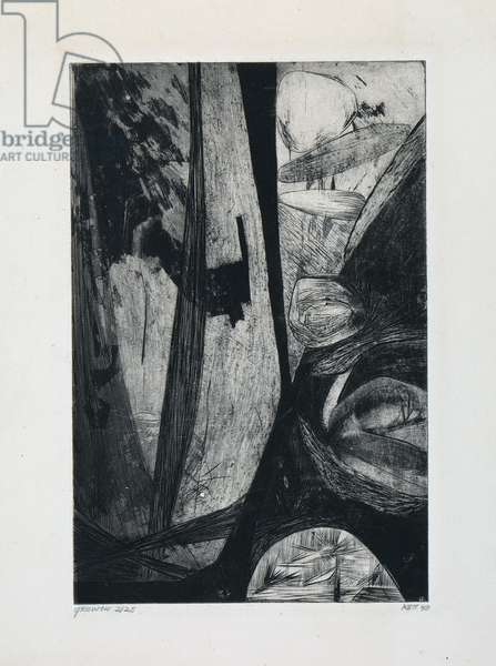 Growth, 1949 (engraving & aquatint)