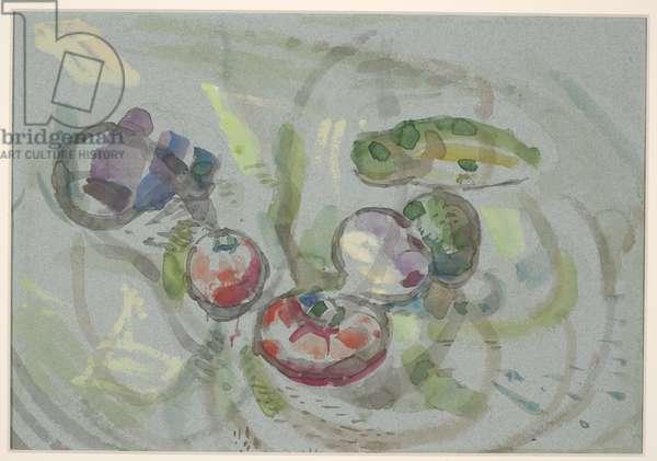Vegetable, c.1955 (w/c on paper)
