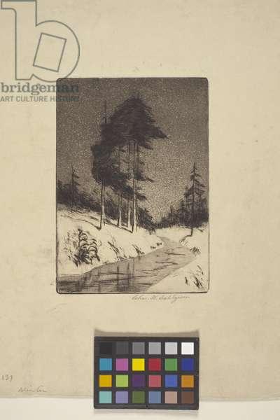 Winter (ink)