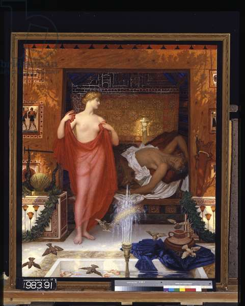 Hera In The House Of Hephaistos (oil on canvas)