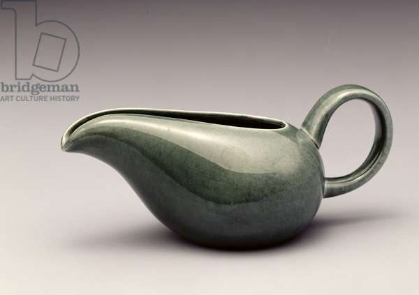 Cream pitcher, Steubenville Pottery, c.1940 (ceramic)