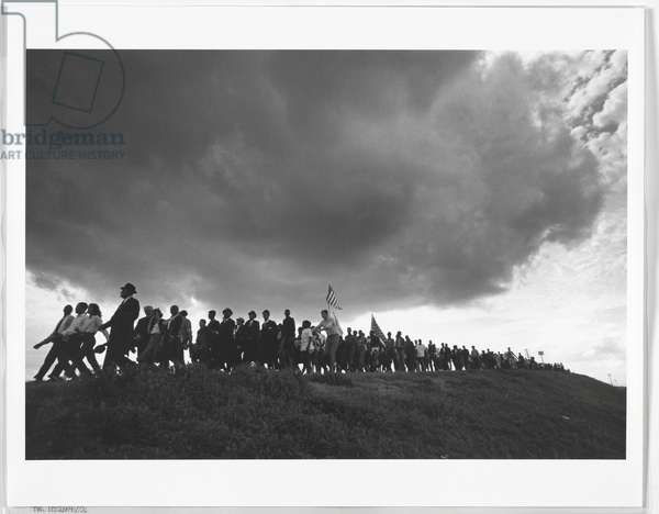 Selma to Montgomery March, 1965 (gelatin silver print)