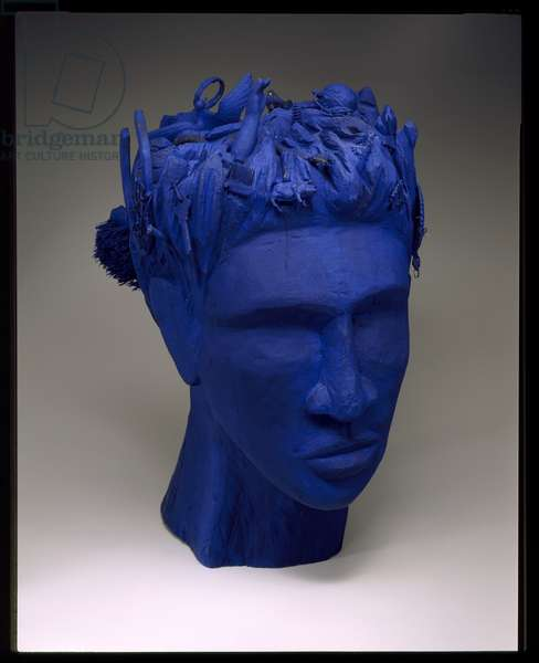 Nappy Head Blues, 1997 (wood, paint & found objects)