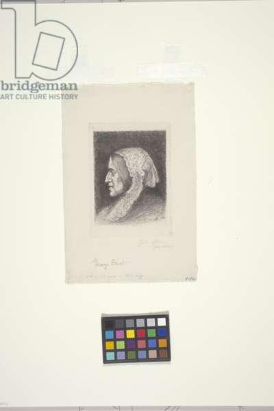 George Eliot (etching)